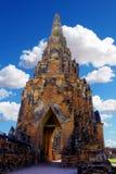 tajska stupa Zdjęcie Stock