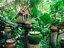 tajski duch w domu zdjęcie stock