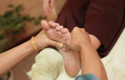 tajski masaż. zdjęcia stock