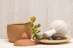 tajski masaż ciała zdjęcia stock