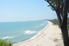 tajski morza Zdjęcie Royalty Free