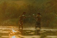 tajski pewien Fotografia Royalty Free