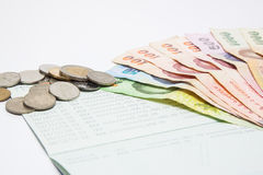 tajski pieniądze Zdjęcia Stock