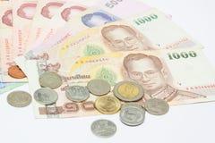 tajski pieniądze Zdjęcie Royalty Free
