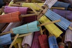 tajski ręcznie parasolkę Zdjęcia Stock