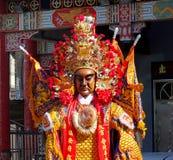 Tajwańscy Świątynni tancerze Obrazy Royalty Free