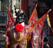 Tajwańscy Świątynni tancerze Zdjęcia Stock