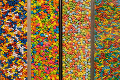 Tajwańscy kolorowi cukierki w pudełkach Obrazy Royalty Free