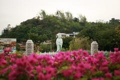 Tajwańska Buddha świątynia fotografia stock