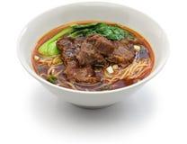 Tajwańska wołowina kluski polewka Obraz Royalty Free