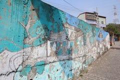 Tajwański Checheng ulicy widok Obraz Stock