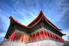Tajwański teatr narodowy zdjęcie stock