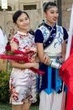 Tajwańska lud grupa Fotografia Stock