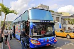 Tajwańska wycieczka autobusowa Obraz Royalty Free