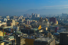 Tajwański miasto Lanscape Obraz Stock