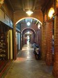 Tajwan DA XI. stara ulica obrazy stock