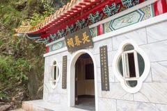 TAJWAN - Jan 18 2016: Wiecznie wiosna Shirine w smole (Changchunci) Fotografia Royalty Free