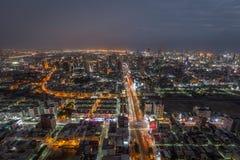 Tajwan przy nocą obraz stock