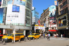 Tajwan: Ximending obraz stock