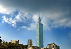 Tajwańska linia horyzontu Obraz Stock