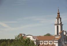 także jako browaru miejsca Poland s kościół chrześcijański znać imię stary basztowy miasteczko tam dokąd zywiec Obrazy Royalty Free