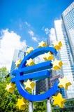 także widzii znaka szyldowego wektor projekta euro kwiecista galerii ilustracja mój obraz stock