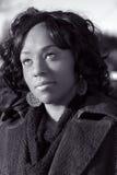 tak, afroamerykanin dziewczyna Zdjęcie Royalty Free