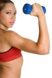 tak, afroamerykanin fitness Fotografia Stock