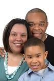 tak, afroamerykanin rodziny Obraz Stock