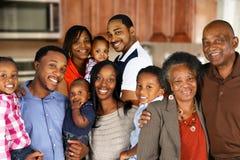 tak, afroamerykanin szczęśliwa rodzina zdjęcie royalty free