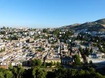 Tak av Albaicin 4 fotografering för bildbyråer