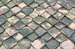 Tak av bakade Clay Roof-Tile Royaltyfri Fotografi