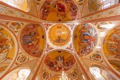 Tak av den ortodoxa kyrkan Fotografering för Bildbyråer