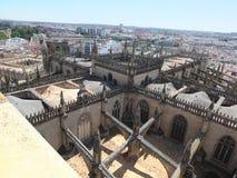 Tak av den Seville domkyrkan Royaltyfri Bild