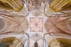 Tak av den Siguenza domkyrkan, Spanien Fotografering för Bildbyråer