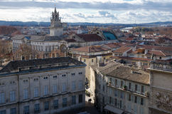 Tak av historiska Avignon Royaltyfri Fotografi
