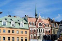 Tak av historiska byggnader Arkivfoton