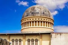 Tak av katolska kyrkan i San Jose, Costa Rica arkivfoto