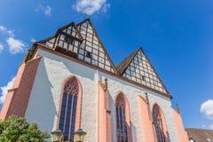 Tak av klosterkyrkan av Blomberg royaltyfria bilder