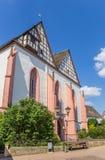 Tak av klosterkyrkan av Blomberg Arkivfoton