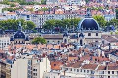 Tak av Lyon Arkivfoto
