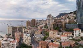 Tak av Monaco Arkivfoto