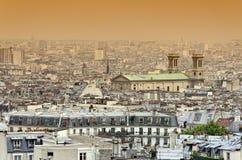 Tak av Paris Royaltyfria Foton