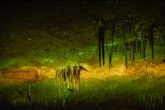 Tak av Prometheus-grottan i kutaisi arkivbild