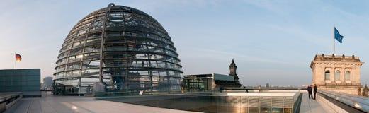 Tak av Reichstagen Royaltyfria Bilder