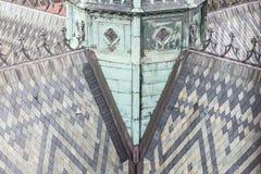 Tak av St. Vitus Cathedral. Royaltyfri Bild