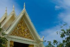 Tak av tempelet arkivfoton