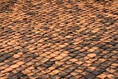 tak av wood bakgrund Arkivfoton