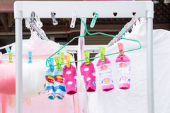 Tak Baby Socks Image libre de droits