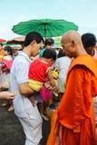 Tak Bat Devo Festivals. Stock Photography